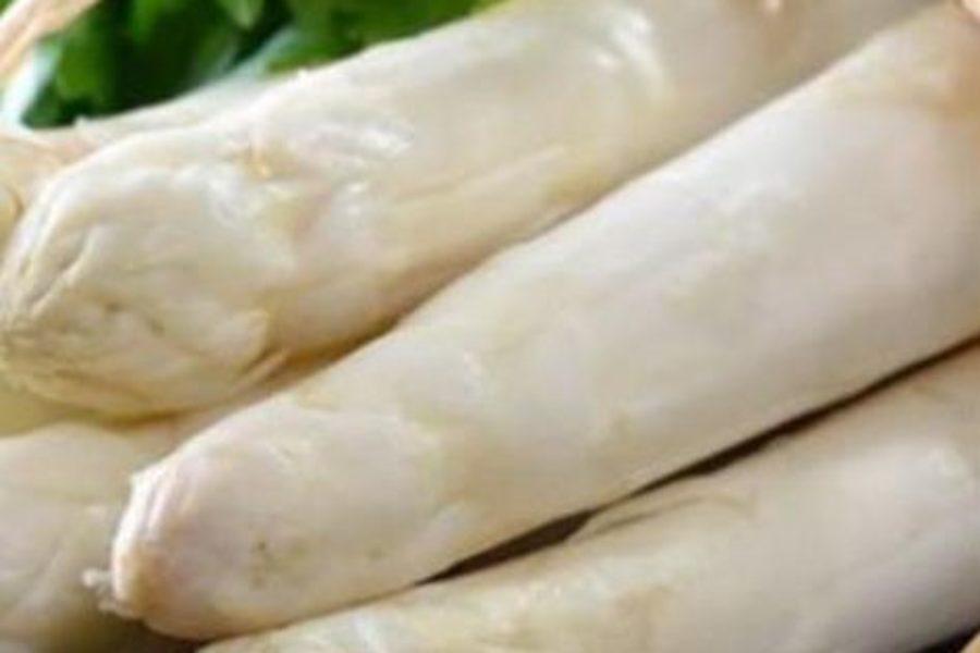 Vichyssoise met asperges en coquilles