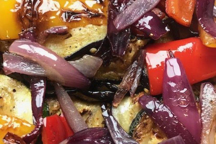 Heerlijke aubergine stoof met bumbu